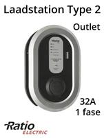 Ratio EV Laadstation type 2 Outlet 32A