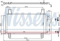 Kondensator, Klimaanlage | NISSENS (94792)