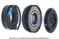 Magneetkoppeling, airconditioningcompressor AKS Dasis, 12 V