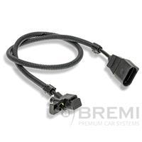 Krukassensor BREMI, Zwart, 3-polig, 12 V