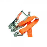 LoadLok 14002635 Spanband met ratel en haken - Oranje - 3m x 25mm
