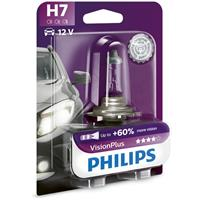 Philips autolamp VisionPlus H7 12V 55W per stuk