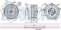 Interieurventilatie NISSENS, 2-polig, 150 mm