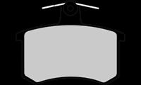 Bremsbelagsatz, Scheibenbremse 'FIRST' | Valeo (301125)