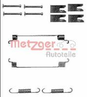 Zubehörsatz, Bremsbacken | METZGER (105-0866)