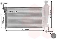 vanwezel VAN WEZEL Wasserkühler 09002116 Kühler,Motorkühler CITROËN,SAXO S0, S1