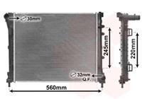 RADIATEUR FIAT 500 1.4i/1.3JTD 07-