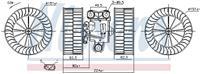 Interieurventilatie NISSENS, 151 mm