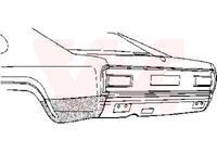 ford Oversizedeel Capri Ii-iii74-.arschrmp