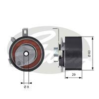 Spannrolle, Zahnriemen 'PowerGrip' | GATES (T43115)