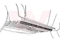 Volkswagen Oversizedeel Kever Onderdorpel Zijkant
