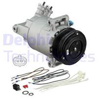 Kompressor, Klimaanlage   DELPHI (TSP0155449)
