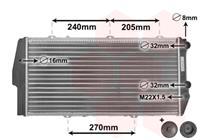 vanwezel VAN WEZEL Wasserkühler 03002020 Kühler,Motorkühler AUDI,100 44, 44Q, C3,100 Avant 44, 44Q, C3,200 44, 44Q,200 Avant 44, 44Q