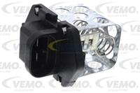 Weerstand, interieurventilator VEMO, 2-polig