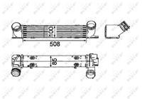 bmw Intercooler, inlaatluchtkoeler