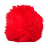 Simoni Racing pookknophoes Fluffy Fur universeel rood