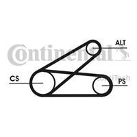 continentalctam Keilrippenriemensatz | CONTINENTAL CTAM (6PK873 ELAST T1)