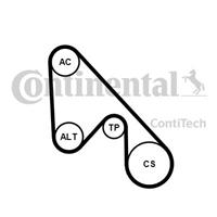 continentalctam Keilrippenriemensatz | CONTINENTAL CTAM (5PK1145K1)