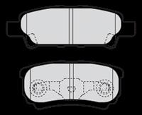 Bremsbelagsatz, Scheibenbremse 'FIRST' | Valeo (301852)