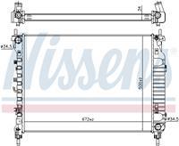 Kühler, Motorkühlung | NISSENS (606255)
