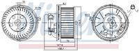 Interieurventilatie NISSENS, 157 mm