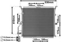 bmw Airco Condensor 316 / 318 /320 / 325 92+