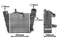 Intercooler, inlaatluchtkoeler Super Deals, 12 mm