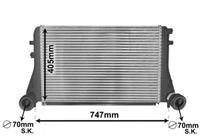 Volkswagen INTERCOOLER 1.9 TDi / 2.0 TDi