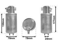 Droger, airconditioning Super Deals, 78 mm