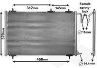 vanwezel VAN WEZEL Klimakondensator 40005257 Kondensator,Klimakühler PEUGEOT,206 Schrägheck 2A/C,206 CC 2D,206 SW 2E/K,206+ T3E,206 Stufenheck