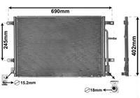 Audi Airco Condensor