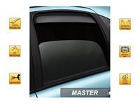 Zijwindschermen Master Dark (achter) voor Hyundai ix20 4 drs 2010-