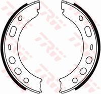 TRW Handbremsbeläge GS8706 Handbremsbacken,Bremsbackensatz, Feststellbremse PORSCHE,BOXSTER 986,944,911 996,911 997,924,BOXSTER 987,911 Cabriolet 996
