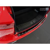 Zwart RVS Achterbumperprotector Jaguar E-Pace 2017-Ribs'