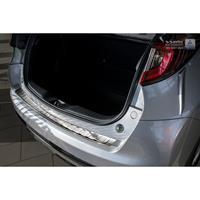 RVS Achterbumperprotector Honda Civic IX 5-deurs Facelift 2015-Ribs'