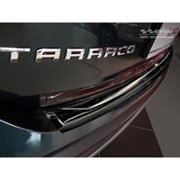 Zwart RVS Achterbumperprotector Seat Tarraco 2019-