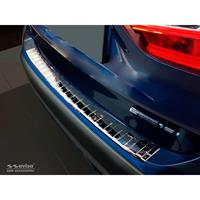 Chroom RVS Achterbumperprotector BMW X1 F48 2015-Ribs'