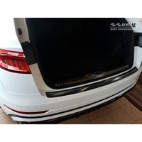 Zwart RVS Achterbumperprotector Audi Q8 2018-