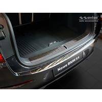 RVS Achterbumperprotector BMW X4 (G02) 2018-Ribs'