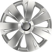 4-Delige Wieldoppenset Energy RC Silver 15 inch