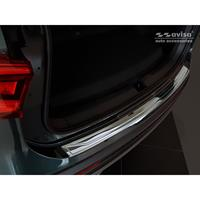 Zwart-Chroom RVS Achterbumperprotector Seat Tarraco 2019-