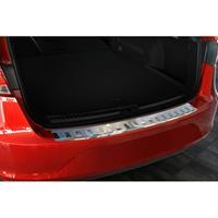 RVS Achterbumperprotector Seat Leon 5F ST 2013-Ribs'