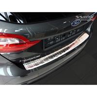 RVS Achterbumperprotector Ford Fiësta MK8 5-deurs 2017-Ribs'