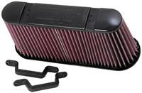 K&N vervangingsfilter Chevrolet Corvette ZR-1 6.2L-V8 2009-2012 (E-0786)