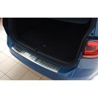 RVS Achterbumperprotector Volkswagen Golf VII Variant 2012-Ribs'