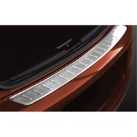 RVS Achterbumperprotector Volkswagen Polo V 6R 2009-Ribs'