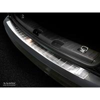 RVS Achterbumperprotector Volkswagen Caddy 2004-2015 & 2015-Ribs'