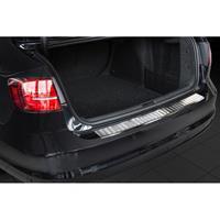 RVS Achterbumperprotector Volkswagen Jetta Facelift 2014-Ribs'
