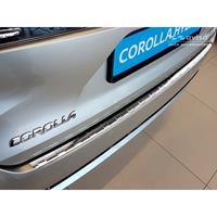 RVS Achterbumperprotector Toyota Corolla XII Combi 2019-Ribs'