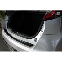 Zwart RVS Achterbumperprotector Honda Civic IX 5-deurs Facelift 2015-Ribs'